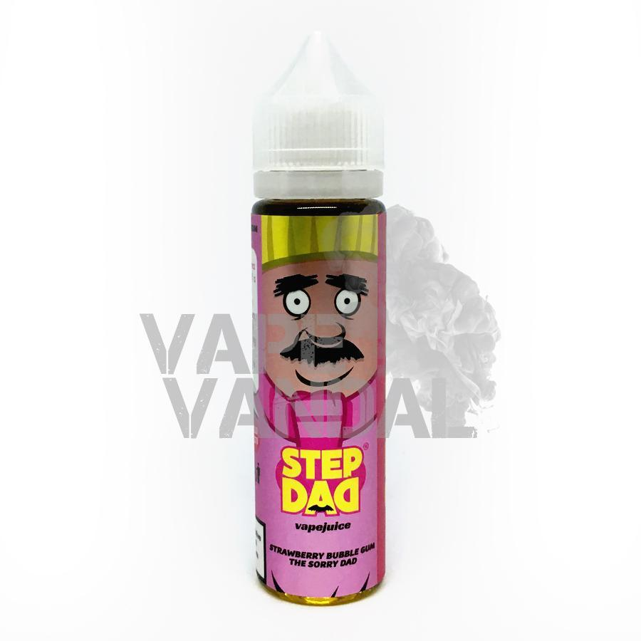 Step Dad - The Sorry Dad (Strawberry Bubblegum) - Vape Vandal - Malaysia's #1 vape e-juice store