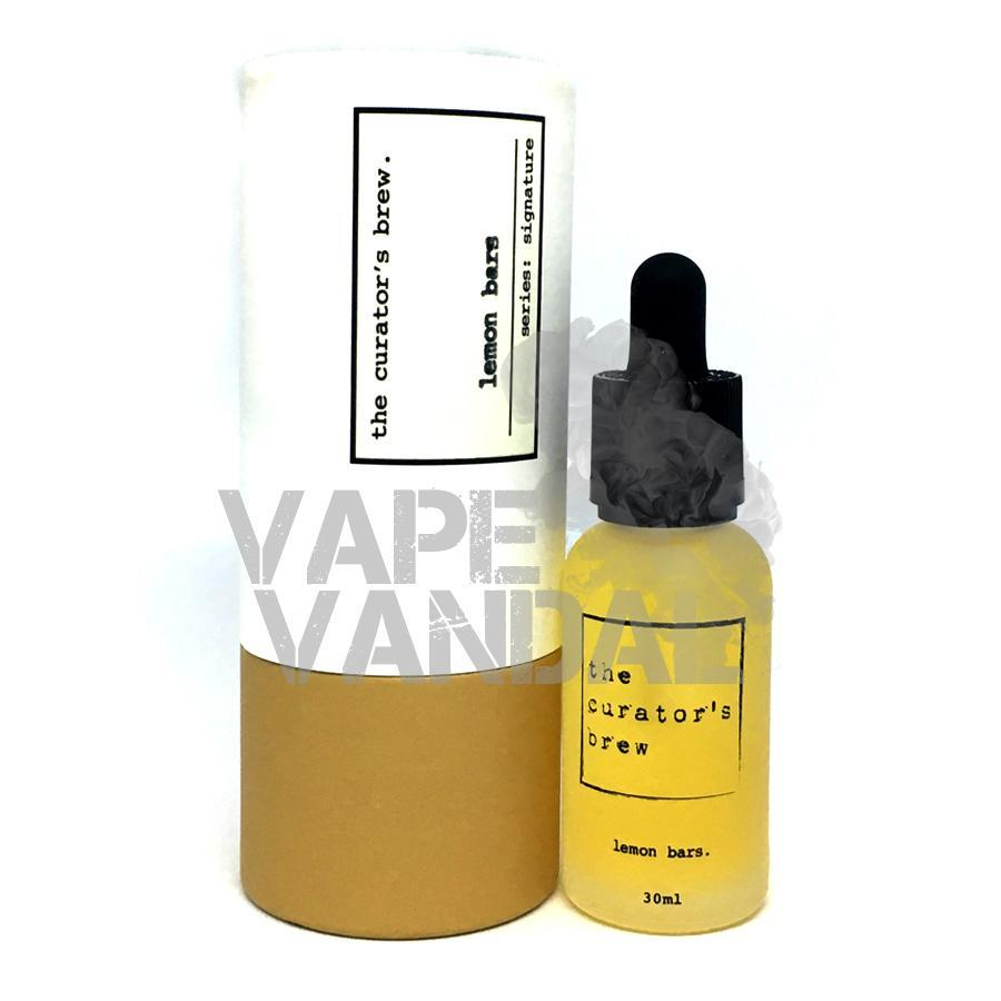 The Curator's Brew - Lemon Bars (Signature Collection) - Vape Vandal - Malaysia's #1 vape e-juice store