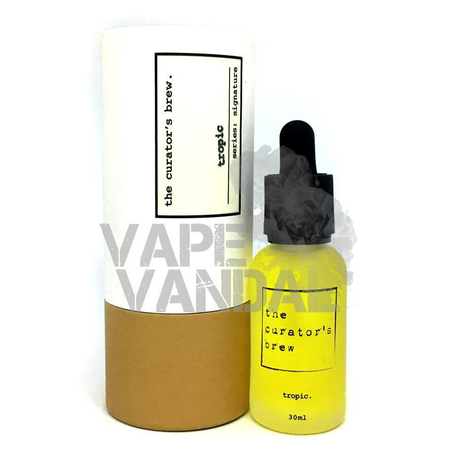 The Curator's Brew - Tropic (Signature Collection) - Vape Vandal - Malaysia's #1 vape e-juice store