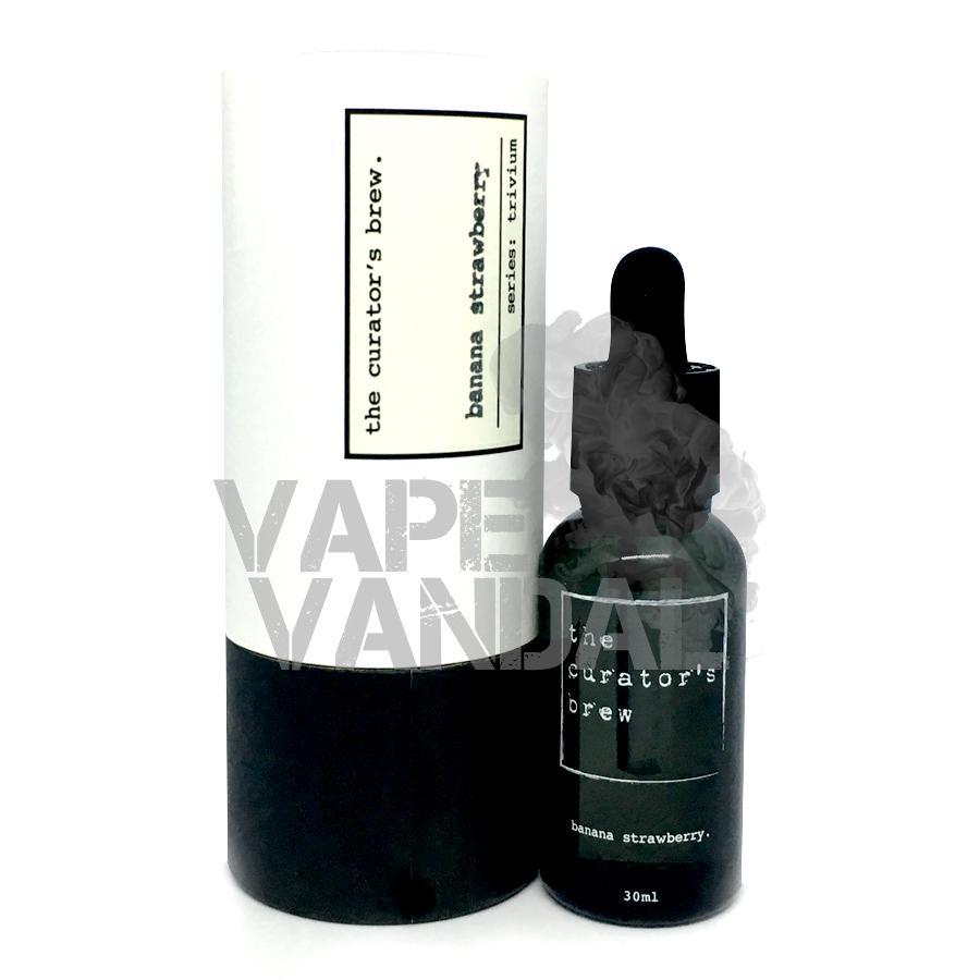 The Curator's Brew - Banana Strawberry (Trivium collection) - Vape Vandal - Malaysia's #1 vape e-juice store