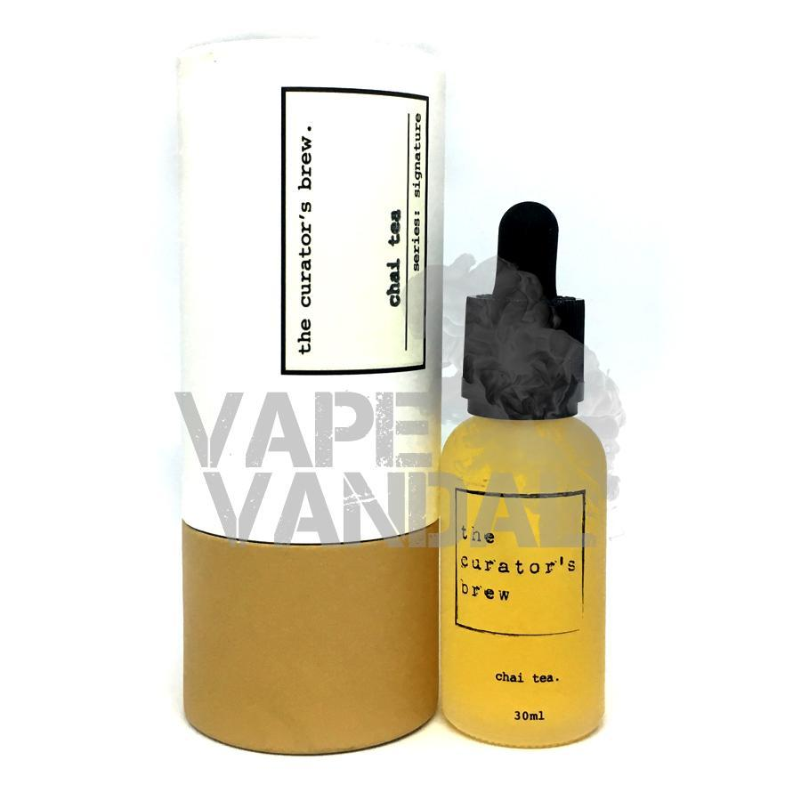 The Curator's Brew - Chai Tea (Signature Collection) - Vape Vandal - Malaysia's #1 vape e-juice store