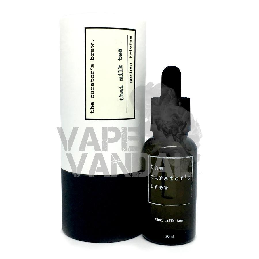 The Curator's Brew - Thai Milk Tea (Trivium collection) - Vape Vandal - Malaysia's #1 vape e-juice store