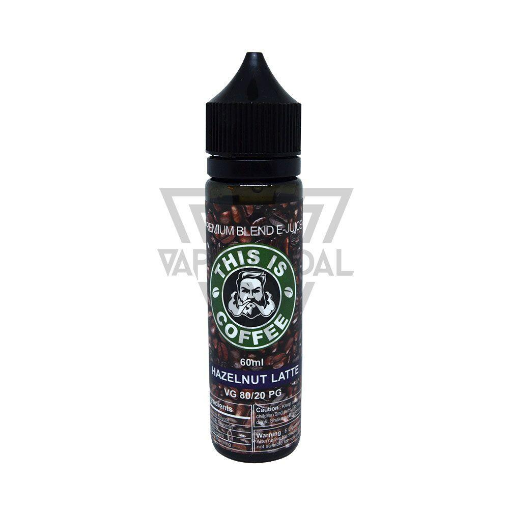 This Is Coffee Local E-liquid 6mg This Is Coffee - Hazelnut Latte