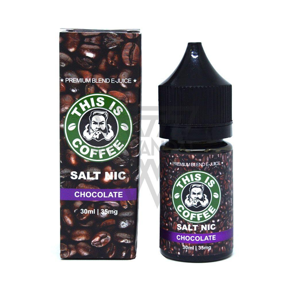 This Is Coffee Local Salt Nicotine E-Juice 35mg This Is Coffee - Chocolate Salt Nicotine