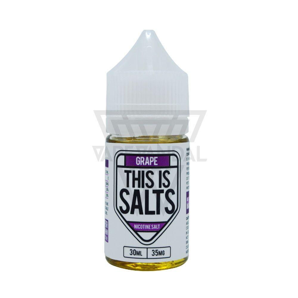 This Is Salts Local Salt Nicotine E-Juice 35mg This Is Salts - Grape Salt Nicotine