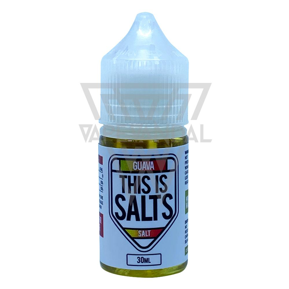 This Is Salts Local Salt Nicotine E-Juice This Is Salts - Guava Salt Nicotine