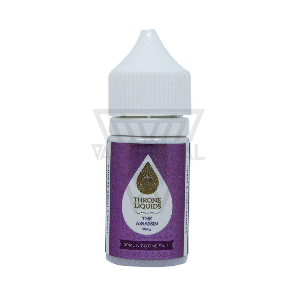 Throne Liquids Clearance 30mg Throne Liquids - The Assassin Salt Nicotine (White Series)