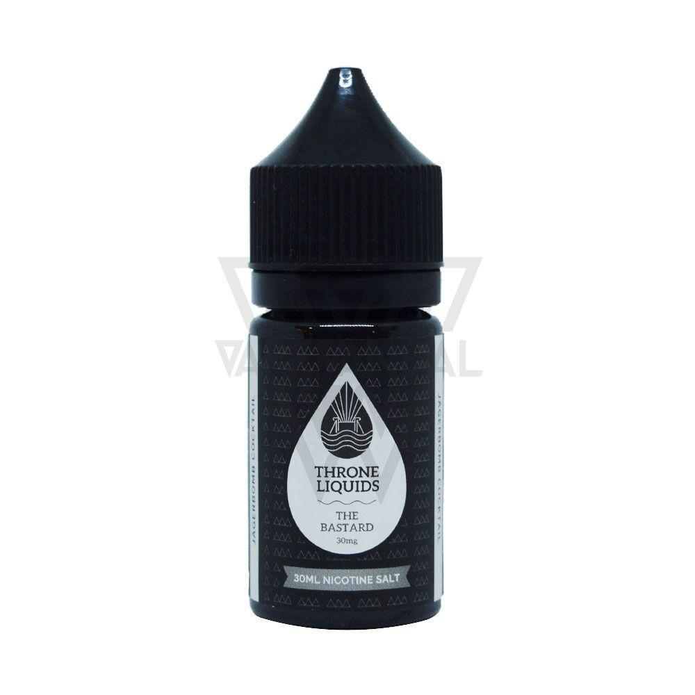 Throne Liquids - The Bastard Salt Nicotine (King Black Series) - Vape Vandal - Malaysia's #1 vape e-juice store