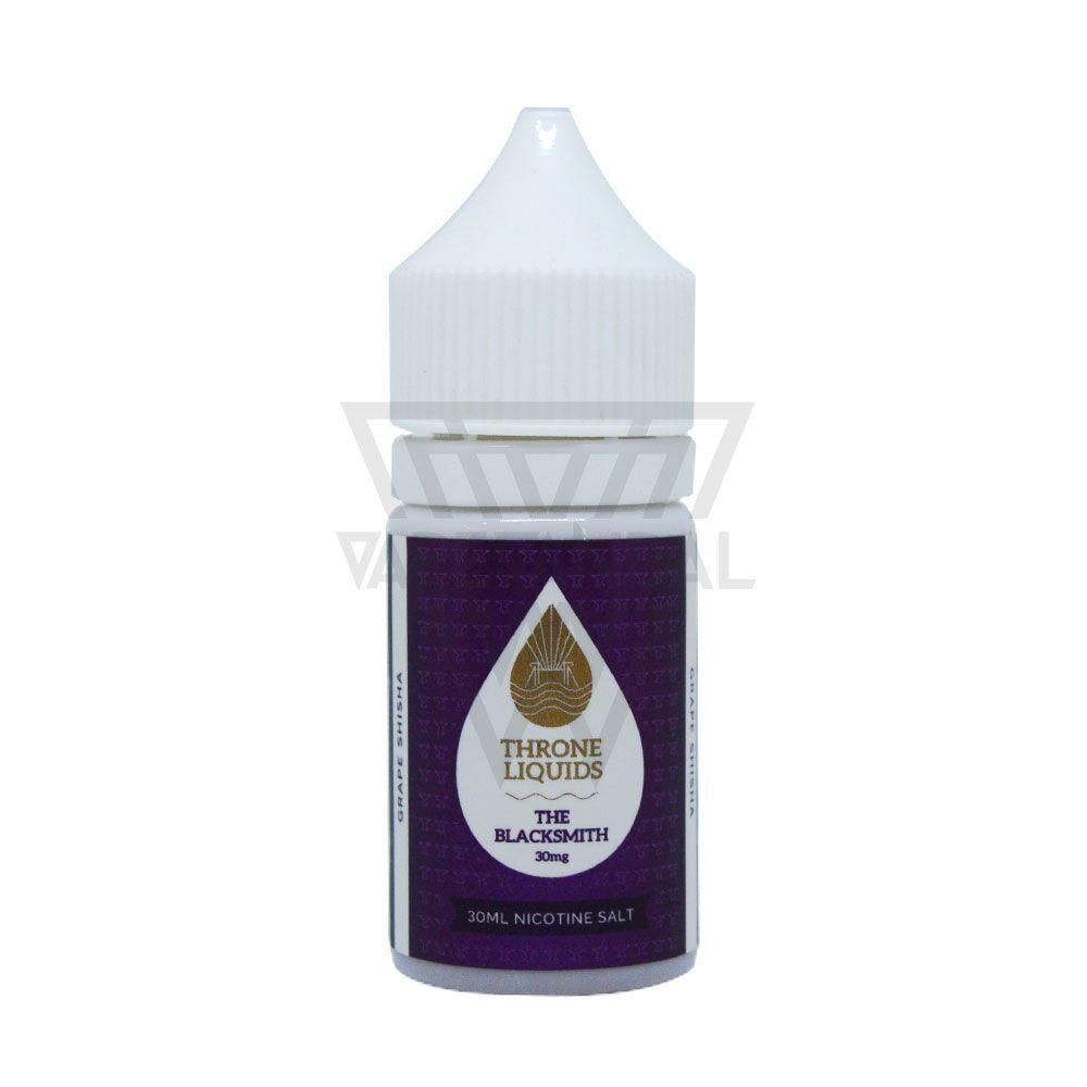 Throne Liquids - The Blacksmith Salt Nicotine (White Series) - Vape Vandal - Malaysia's #1 vape e-juice store