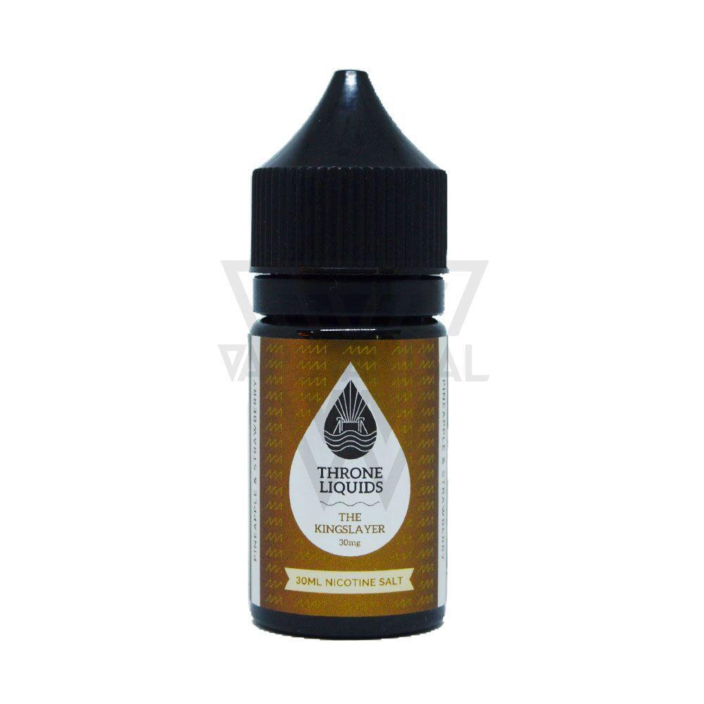 Throne Liquids - The Kingslayer Salt Nicotine (King Black Series) - Vape Vandal - Malaysia's #1 vape e-juice store