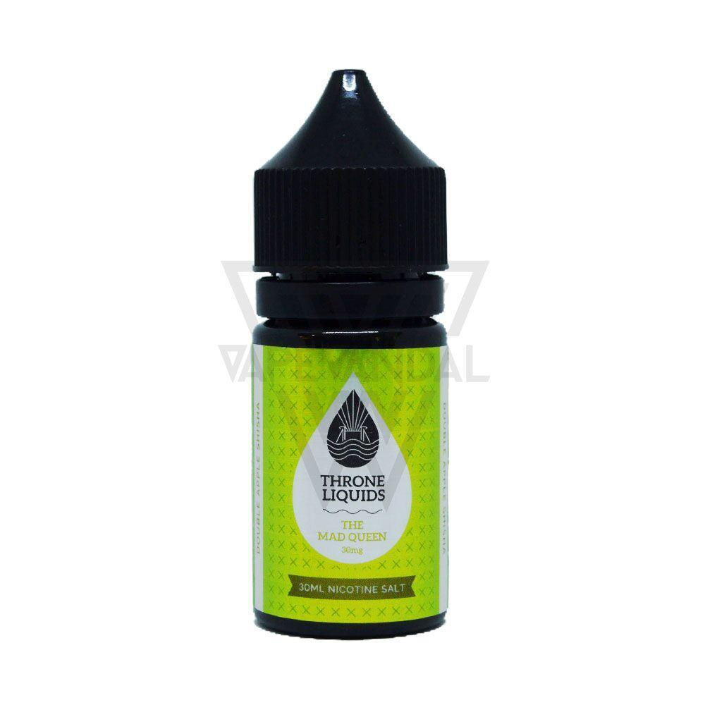Throne Liquids Clearance 30mg Throne Liquids - The Mad Queen Salt Nicotine (Queen Black Series)