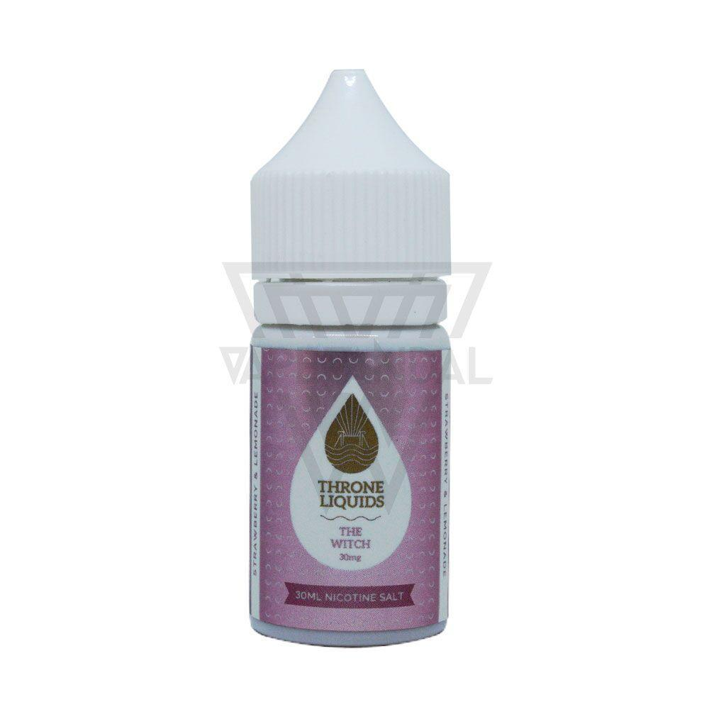Throne Liquids Clearance 30mg Throne Liquids - The Witch Salt Nicotine (White Series)