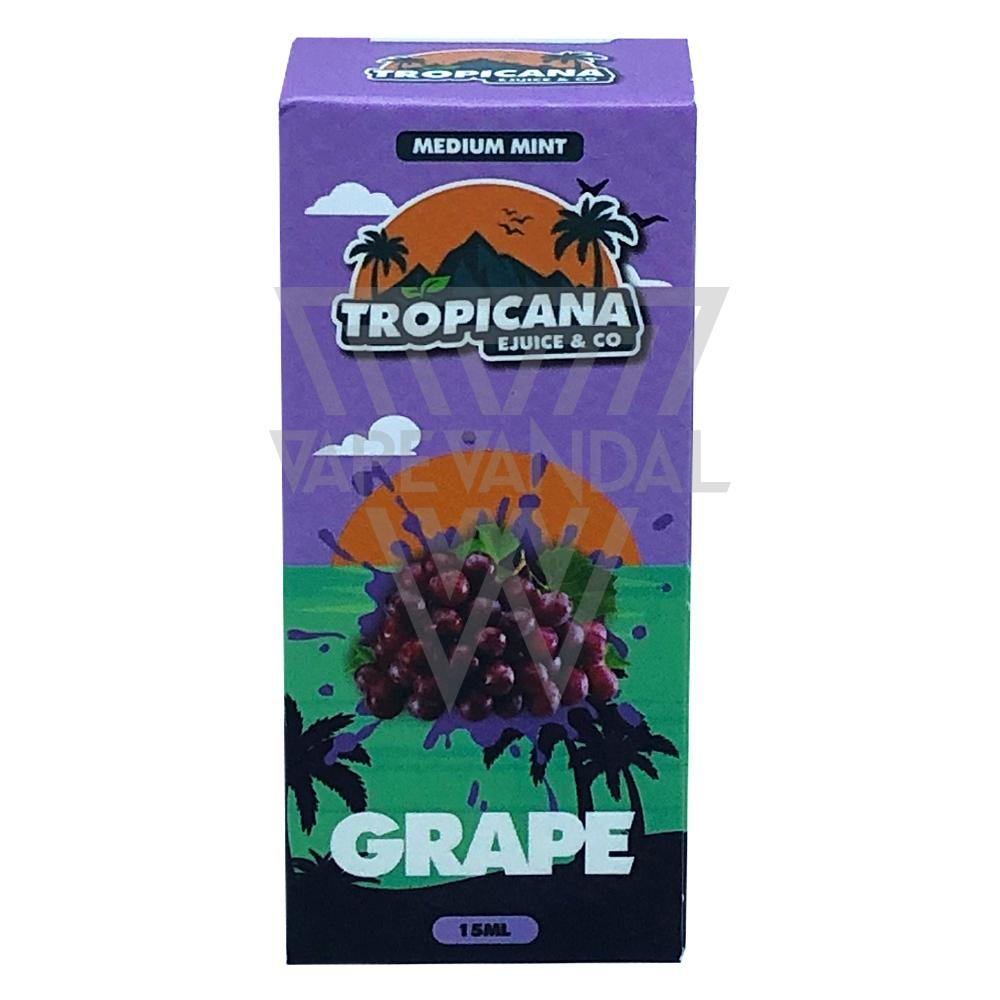 Tropicana Salt Local Salt Nicotine E-Juice Tropicana Salt - Grape Salt Nicotine
