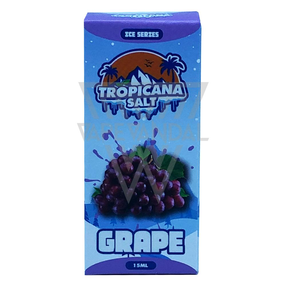 Tropicana Salt Local Salt Nicotine E-Juice Tropicana Salt - Grape Salt Nicotine (Ice Series)
