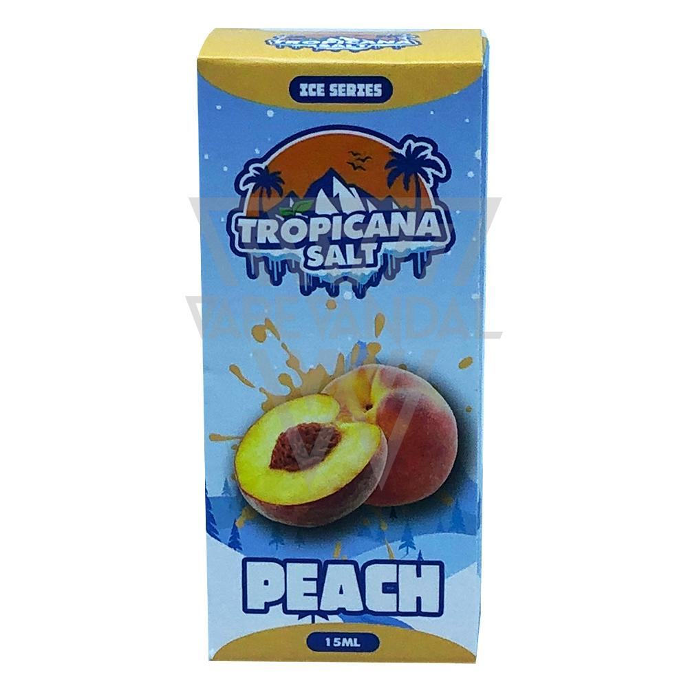 Tropicana Salt Local Salt Nicotine E-Juice Tropicana Salt - Peach Salt Nicotine (Ice Series)