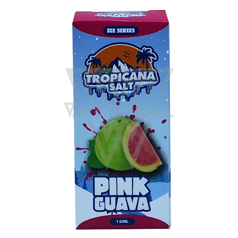 Tropicana Salt Local Salt Nicotine E-Juice Tropicana Salt - Pink Guava Salt Nicotine (Ice Series)