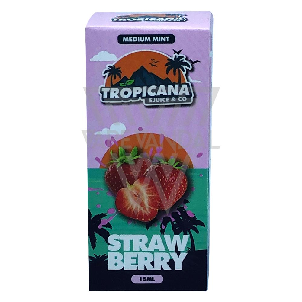 Tropicana Salt Local Salt Nicotine E-Juice Tropicana Salt - Strawberry Salt Nicotine
