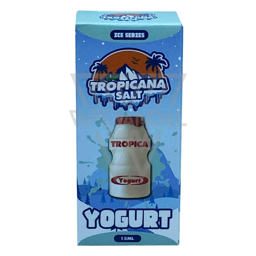 Tropicana Salt Local Salt Nicotine E-Juice Tropicana Salt - Yogurt Salt Nicotine (Ice Series)