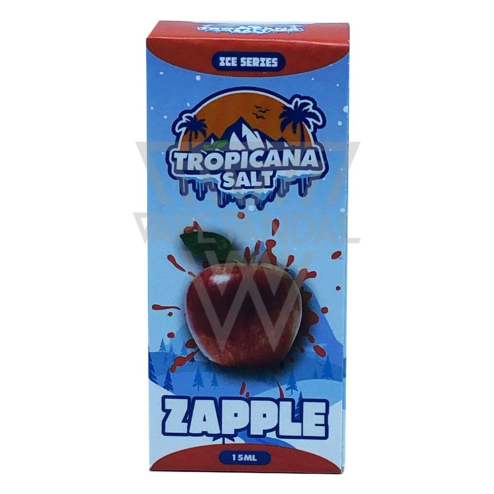 Tropicana Salt Local Salt Nicotine E-Juice Tropicana Salt - Zapple Salt Nicotine (Ice Series)