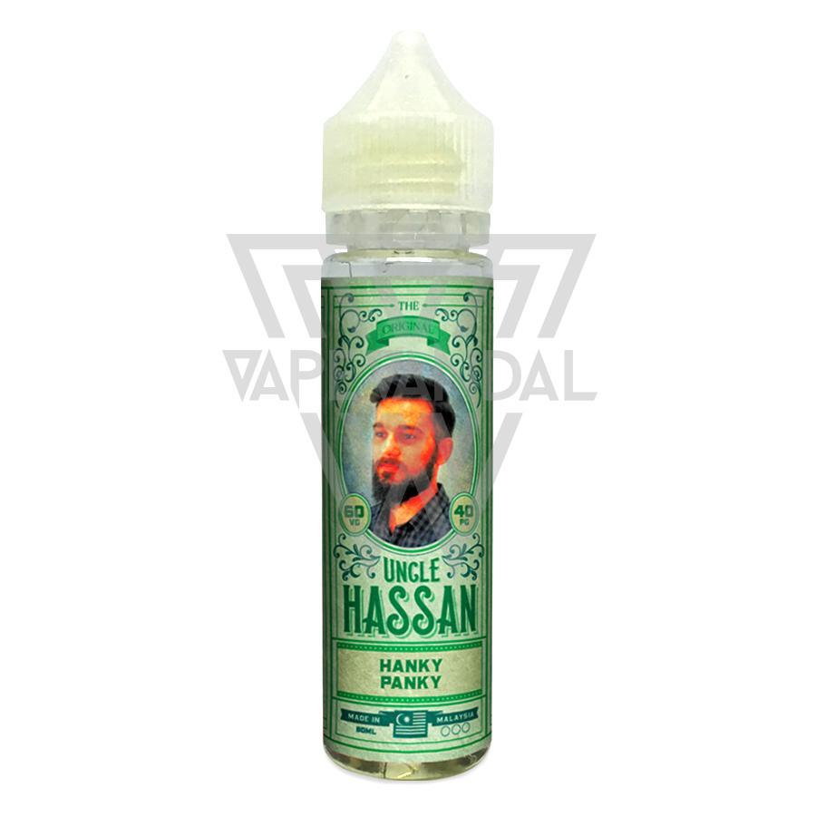 Uncle Hassan Local E-Juice 3mg Uncle Hassan - Hanky Panky (Pineapple Peach)
