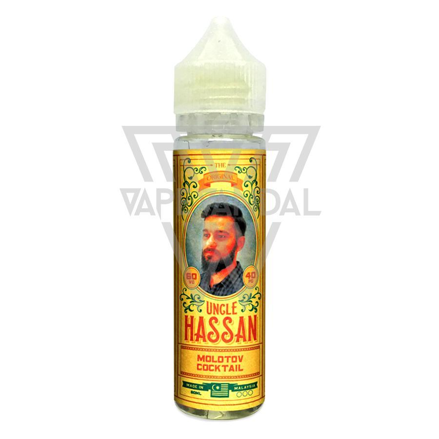 Uncle Hassan Local E-Juice 3mg Uncle Hassan - Molotov Cocktail (Mango Peach)