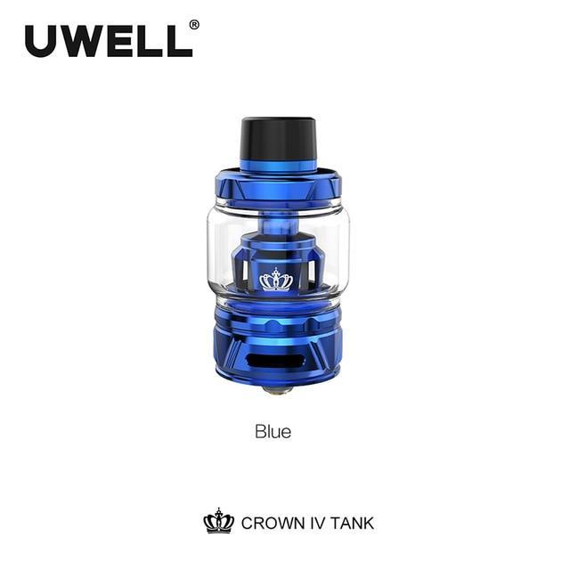 Uwell Tank Blue / 6ml standard edition Uwell - Crown IV 4 Tank (FREE SHIPPING)