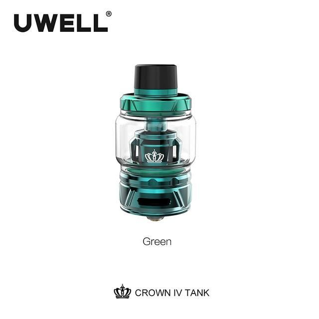 Uwell Tank Green / 6ml standard edition Uwell - Crown IV 4 Tank (FREE SHIPPING)