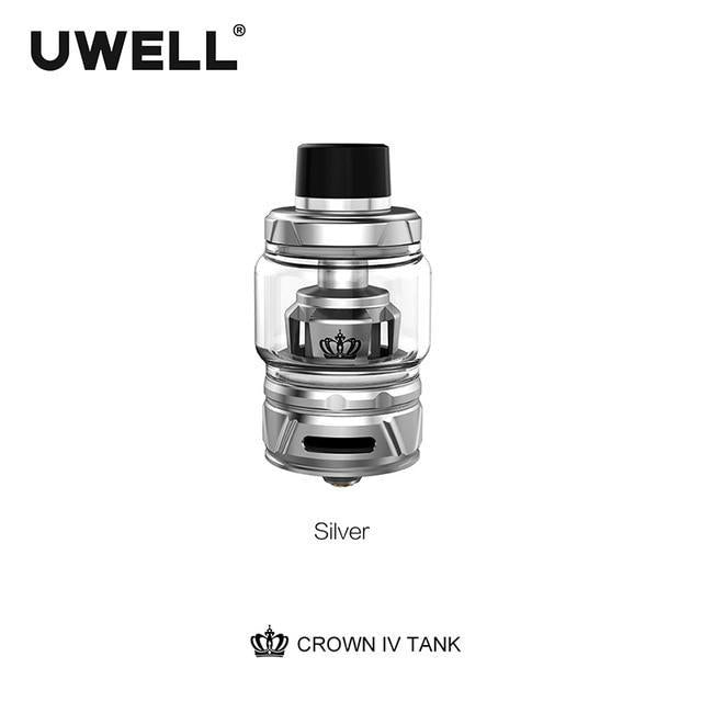 Uwell Tank Stainless Steel / 6ml standard edition Uwell - Crown IV 4 Tank (FREE SHIPPING)
