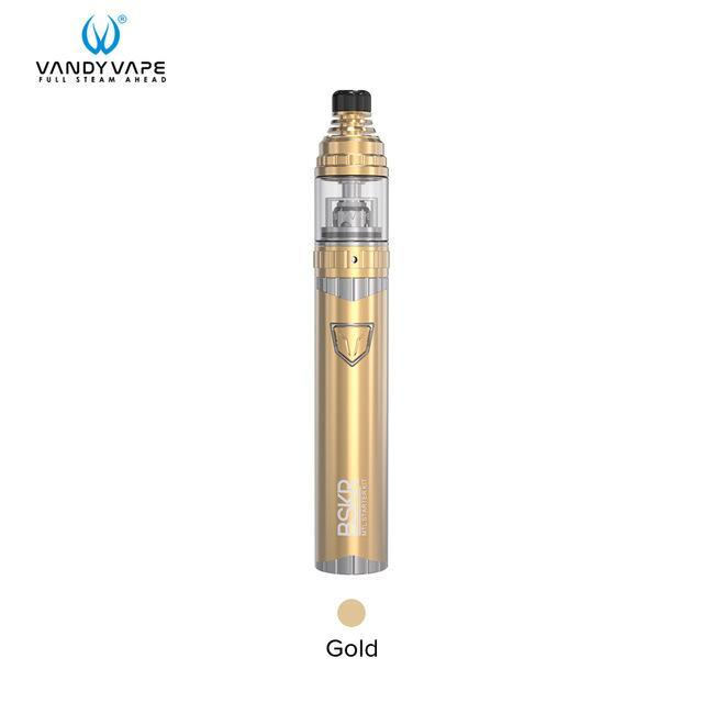 Vandy Vape Mod Gold / Kit and Coil 1.5ohm Vandy Vape - BSKR MTL Kit + 5pcs BSKR MTL Core 1.8 1.5 ohm (FREE SHIPPING)