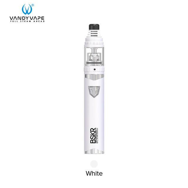 Vandy Vape Mod White / Kit and Coil 1.5ohm Vandy Vape - BSKR MTL Kit + 5pcs BSKR MTL Core 1.8 1.5 ohm (FREE SHIPPING)