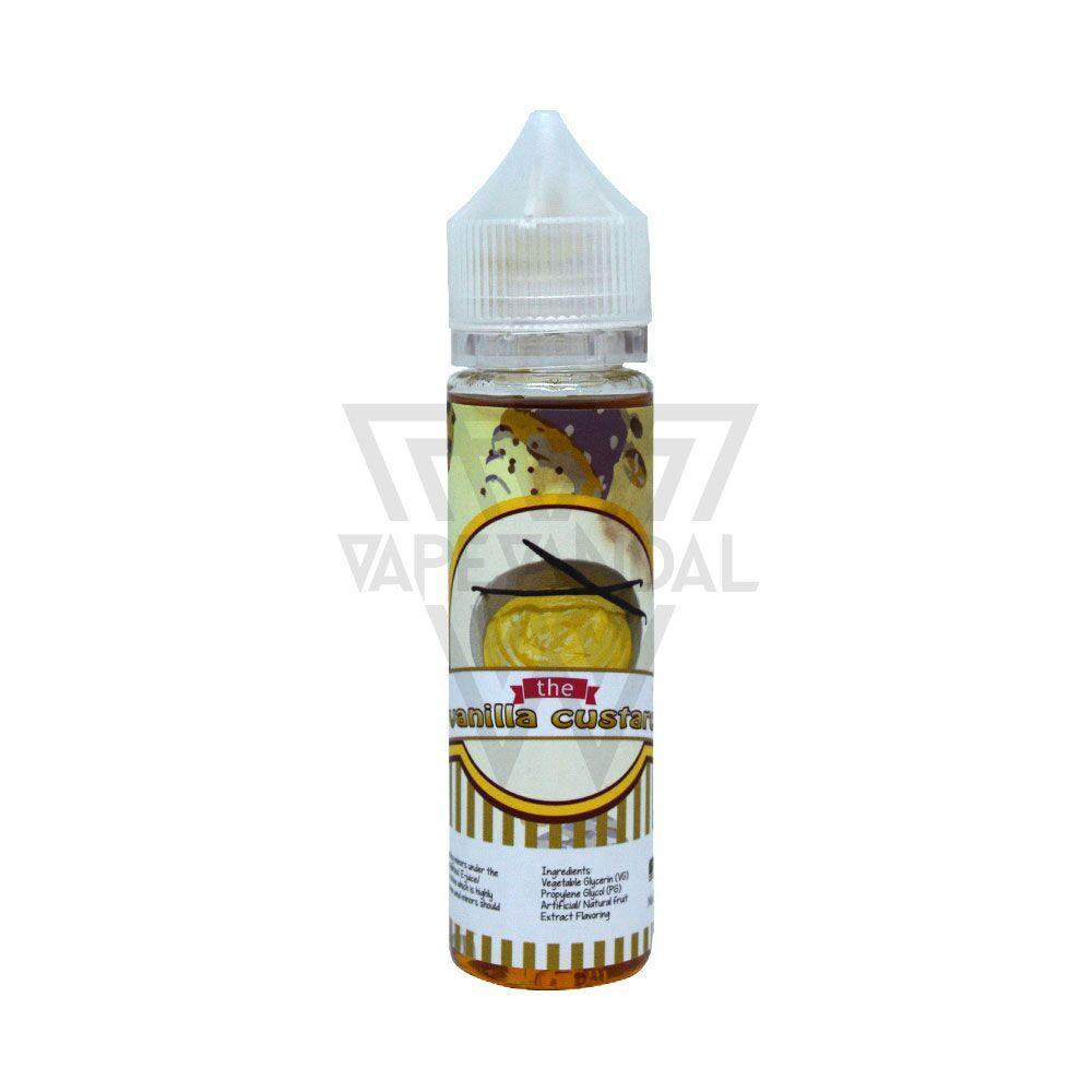 Vanilla Custard Local E-Juice 3mg Vanilla Custard - Vanilla Custard