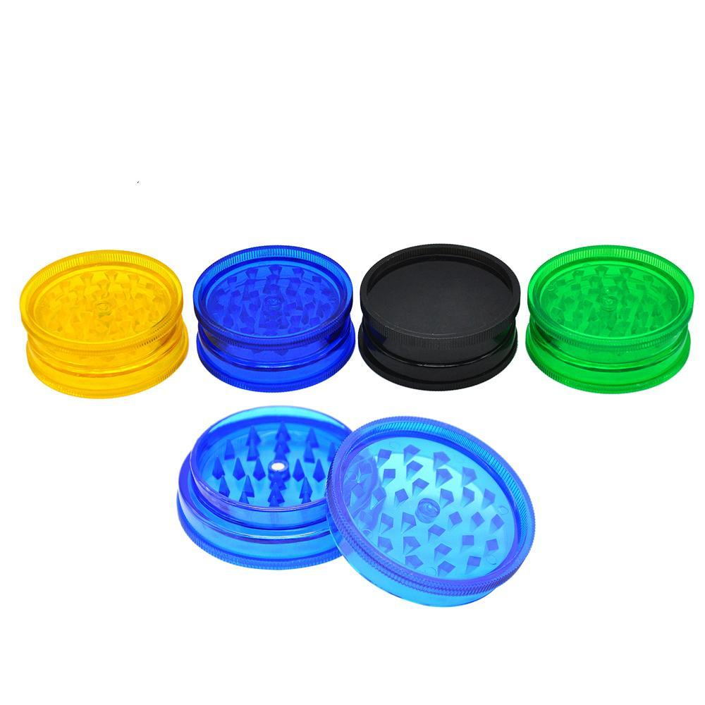 Vape Vandal MJ Accessories 3 Part Plastic Grinder