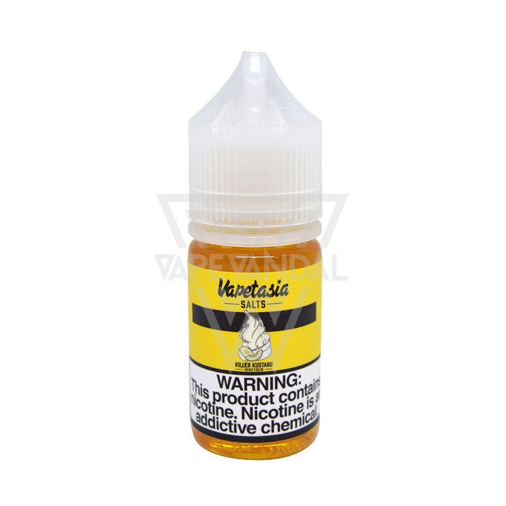 Vapetasia Imported Salt Nicotine E-Juice (US) Vapetasia Salts - Killer Kustard Honeydew Salt Nicotine