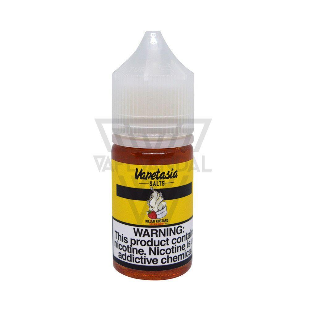 Vapetasia Imported Salt Nicotine E-Juice (US) Vapetasia Salts - Killer Kustard Strawberry Salt Nicotine