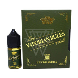 Vaporian Rules Local Salt Nicotine E-Juice 35mg Vaporian Rules - Eve Salt Nicotine