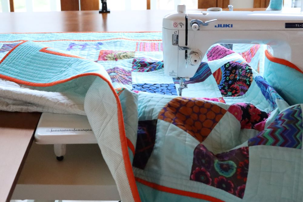 How to set up your work space for successful quilting at home