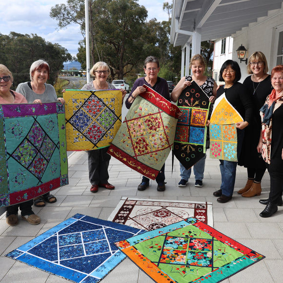 Tutored Quilting Retreat 2pm Monday 10th May to 9am Friday 14th May 2021