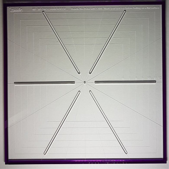 Crosshair Ruler 6 point