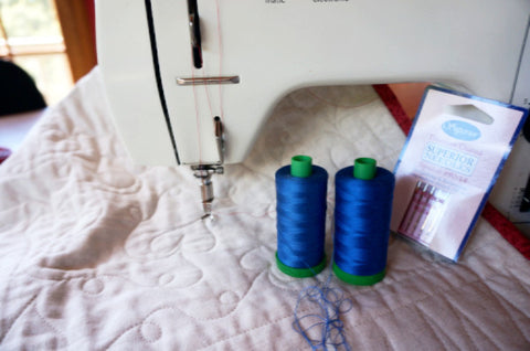 Fundamentals of free motion quilting