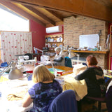 Quilting class free motion quilting and quilting with rulers