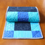 Simple Table Runner and Placemats; Beginner Quilting with Rulers, Skill Builder Pattern 1