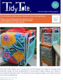 Tidy Tote pattern using the Sterilite Clear view Drawers, easily purchased in the US and Canada