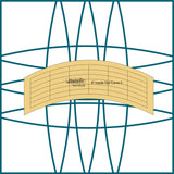"6"" Inside Out Curve Templates"