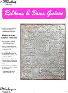 DM QUILTING - Ribbons & Bows Galore Pattern