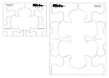 DM QUILTING - Puzzle Template Set