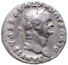 Roman Empire, Vespasian (69-79), Silver Denarius, Quadriga on rev.