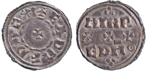 S.1113. Silver penny of Eadred (946-955).