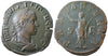 Roman Empire, Philip II (244-249), Sestertius, Pax on rev., RCV 9280