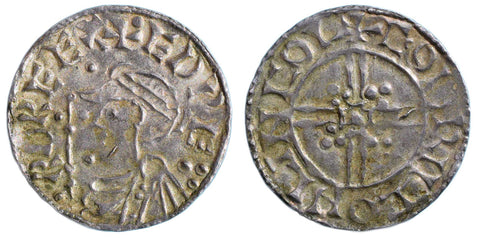 S.1174. Silver penny of Edward the Confessor (1042-1066), Lincoln Mint.