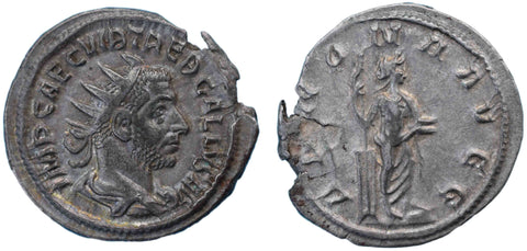 Roman Empire, Trebonianus Gallus (251-253), Antoninianus, Annona on rev.